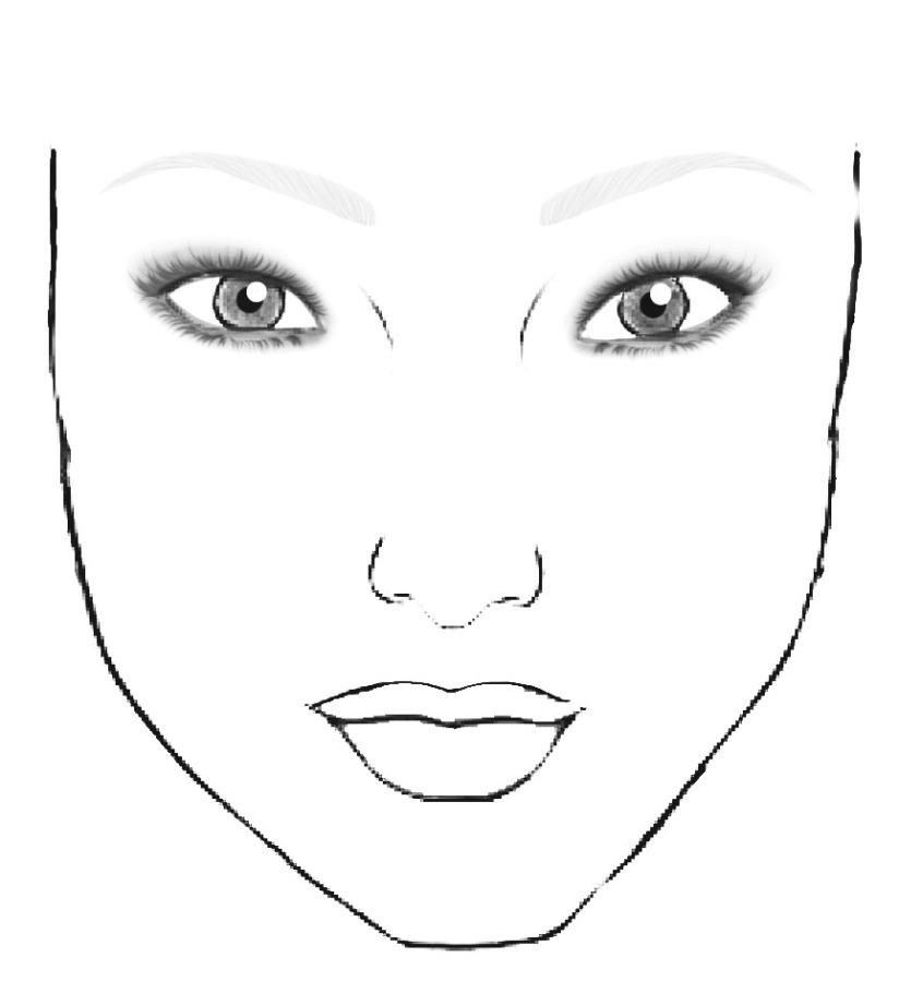 Face Chart 3