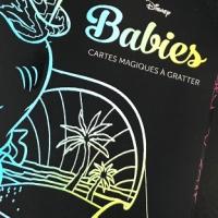 Disney Babies - Présentation et test des cartes magiques à gratter