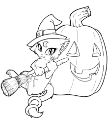 Free-Witch-Coloring-Pages